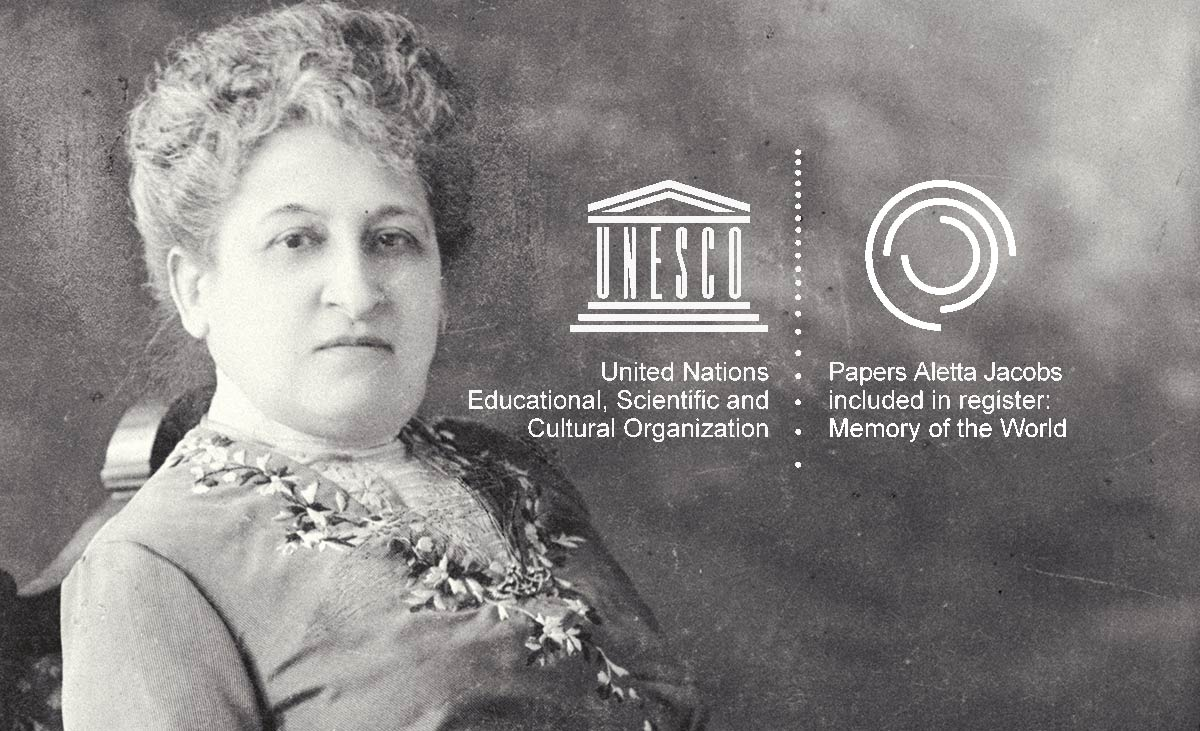 aletta jacobs memory of the world unesco