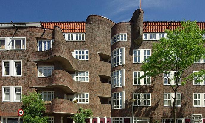 woonhuis in holendrechtstraat in amsterdam van architect margaret staal-kropholler