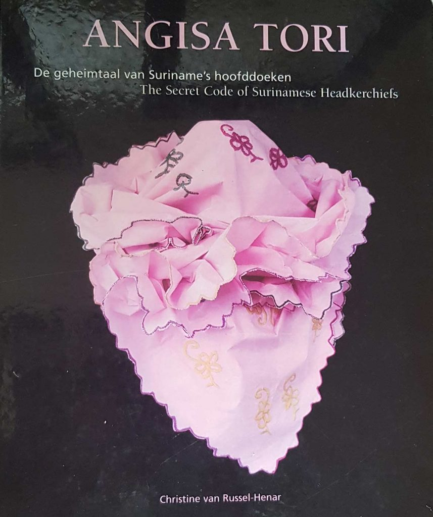 Angisa tori, cover boek
