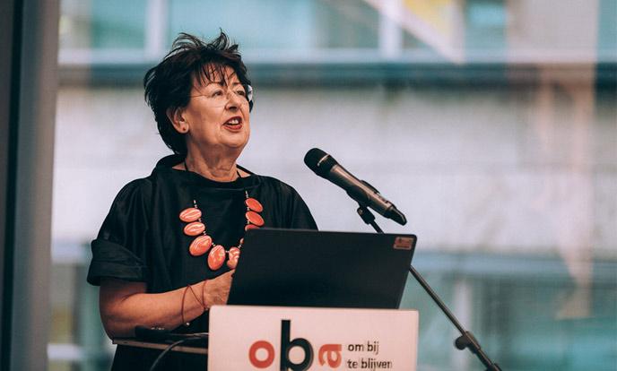 speech renee romkens bij opening tentoonstelling de straat op
