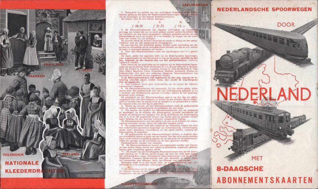 Folder NS door Beatrice van Leusden