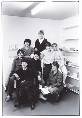 medewerkers van het tijdschrift lover in 1981