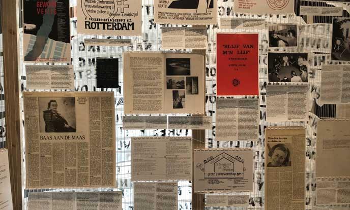 paneel op tentoonstelling het ontwerp van het sociale